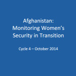Women in Transition – Cycle 4 Findings