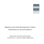 Rural – Urban Migration: Case of Kabul
