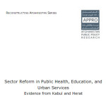 Sector Reform in Public Health, Education, and Urban Services
