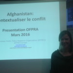 """Contextualizing the Afghan conflict"" : APPRO Presentation at the French Office for Refugees and Landless Persons"