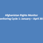 Afghanistan Rights Monitor: Monitoring Cycle 1