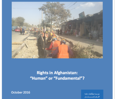 ARM Rights in Afghanistan Human or Fundamental Featured Image