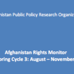 Afghanistan Rights Monitor: Monitoring Cycle 3