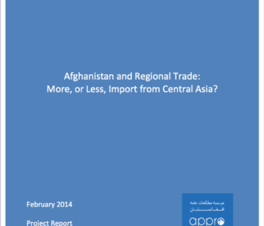 Afghansitan and Regional Trade Featured Image