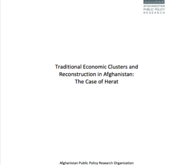 Traditional Economic Clusters in Herat Featured Image
