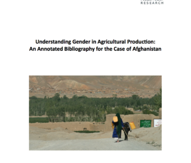 Understanding Gender in Agricultural Production Featured Image