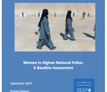 Women in ANP A Baseline Assessment Featured Image