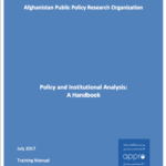 Policy and Institutional Analysis: A Handbook