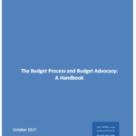 The Budget Process and Budget Advocacy: A Handbook