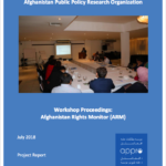 Workshop Proceedings: Afghanistan Rights Monitor