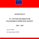 Afghanistan: EU Country Roadmap for Engagement with Civil Society. 2018-2020