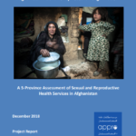 A 5-Province Assessment of Sexual and Reproductive Health Services in Afghanistan