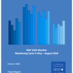 NAP 1325 Monitor Monitoring Cycle 5: May – August 2018