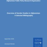 Overview of Gender Studies in Afghanistan – A Selected Bibliography