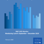 NAP 1325 Monitor Monitoring Cycle 9: September – December 2019