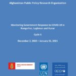Monitoring Government Response to COVID-19 in Nangarhar, Laghman and Kunar – Cycle 6